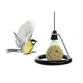 Mangeoire support boule de graisse pour oiseaux born in sweden - Support boule de graisse pour oiseaux ...