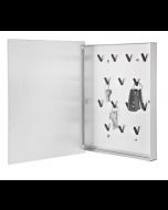 Armoire à clefs XL avec porte magnétique blanche  Velio - Blomus