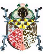 Porte clés Beetle John - Miho