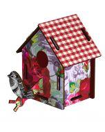 Decoration murale trophee BIRD HOUSE Enjoy the crumbs - Miho