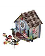 Decoration murale trophée maison oiseau I'M BACK Miho