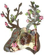Decoration murale tête de cerf Très chic Miho