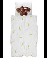 Housse de couette Banana Monkey - Snurk-100 x 140