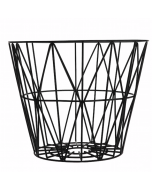 Panier wire basket noir Ferm Living