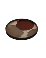 Plateau en Verre Design Ø 61 cm - Notre Monde-Overlapping Dots
