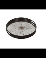 Plateau Miroir Design Ø 48 cm - Notre Monde-Slice