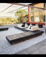 Salon de jardin modulable Happylife Sofa - Slide