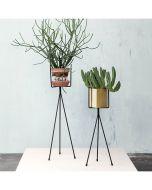 Support et pots pour plante - Ferm Living - noir