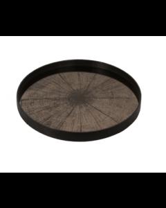 Plateau Miroir Design Ø 61 cm - Notre Monde