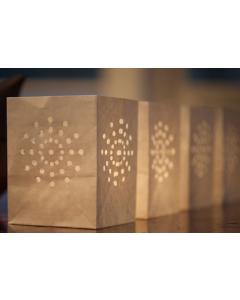 Photophore Snowflake - Tindra - set de 6