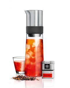 Kit à thé glacé (Carafe à thé, livret de recette et thé) - Blomus