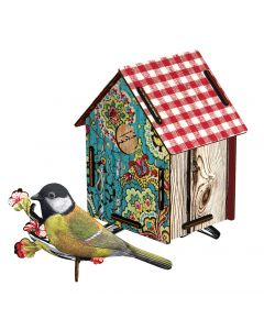 Decoration murale trophee BIRD HOUSE Serenade - Miho