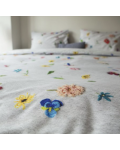 Housse de couette Knitted Flowers (tricot de fleurs )- Snurk