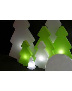 Grand sapin Lumineux Exterieur - Slide - Vert