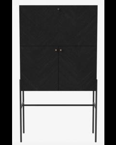 Meuble de Bar Luxe en chêne teinté noir - Bolia