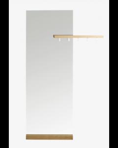 Miroir Posé + porte manteau D. W Shift - Bolia