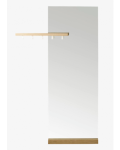 Miroir Posé + porte manteau G. W Shift - Bolia