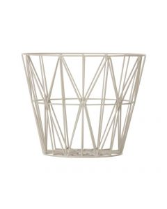 Panier wire basket - Ferm Living - Gris