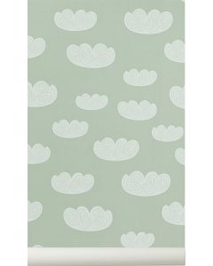 Papier peint Cloud mint - Ferm Living