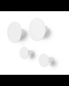Patères Ponto - set de 4 - Blomus-Blanc