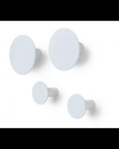 Patères Ponto - set de 4 - Blomus-Gris clair
