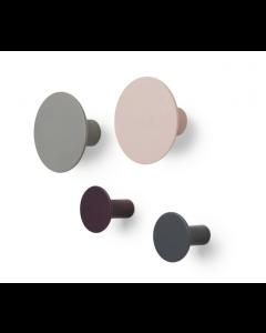 Patères Ponto - set de 4 - Blomus-Multicolor