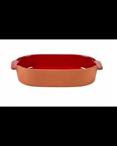 Plat à four oval S - Terra - Jansen+co - Serax-Rouge