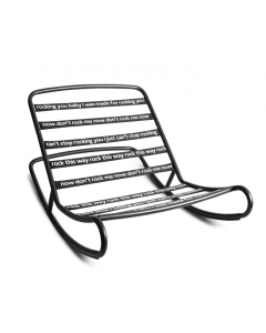 Rocking Chair pour Pouf Original - Fatboy