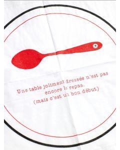 Serviettes en papier Une table dressée- Clodette by Serax