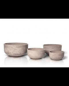 set de 4 pots de fleurs Terracotta Planta - Blomus