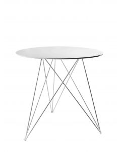 Table bistrot Sticchite Serax blanc