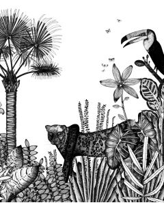 Papier peint panoramique The Wild - Bien Fait