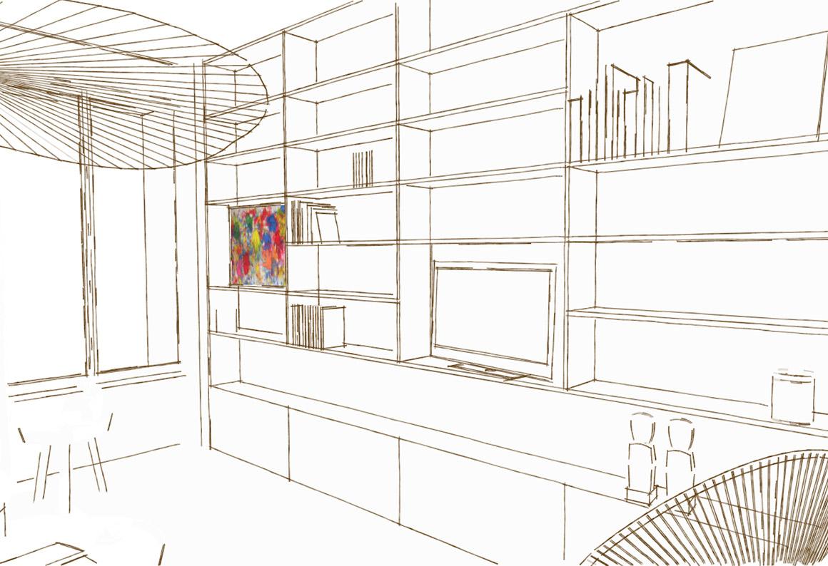 Conception de mobilier contemporain