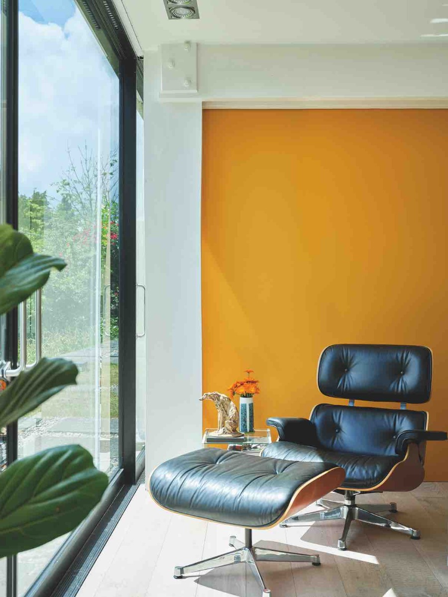 Dutch orange Farrow&Ball chez Dame DECO