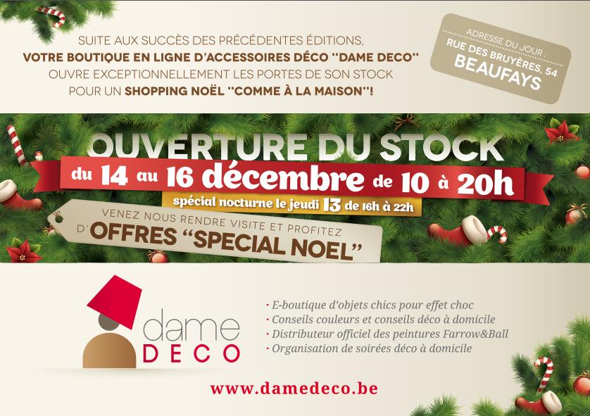 Invitation event Dame DECO
