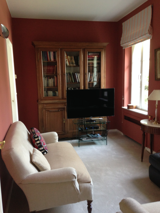 Couleur Book room Red Farrow&Ball