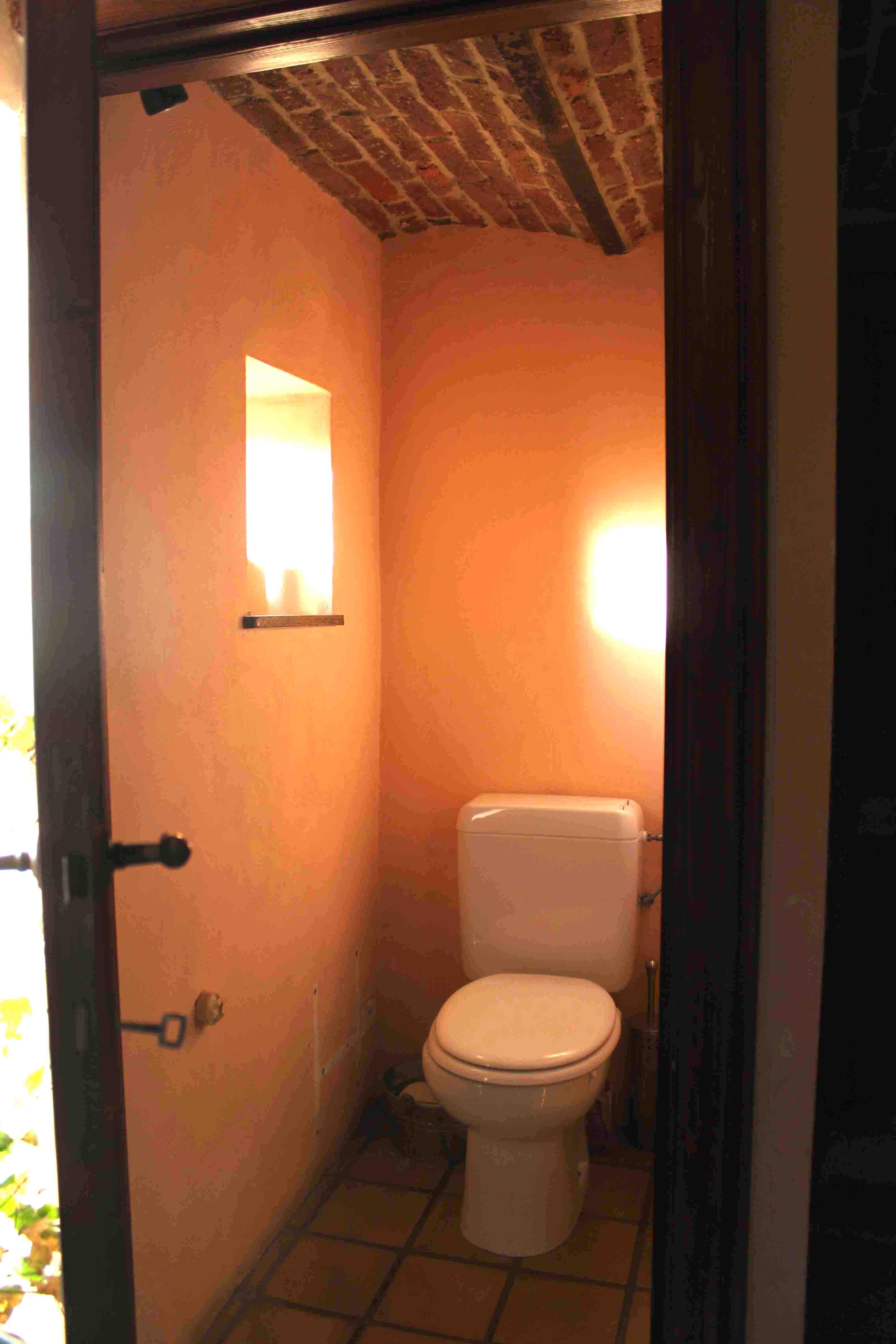 relooking d'une toilette