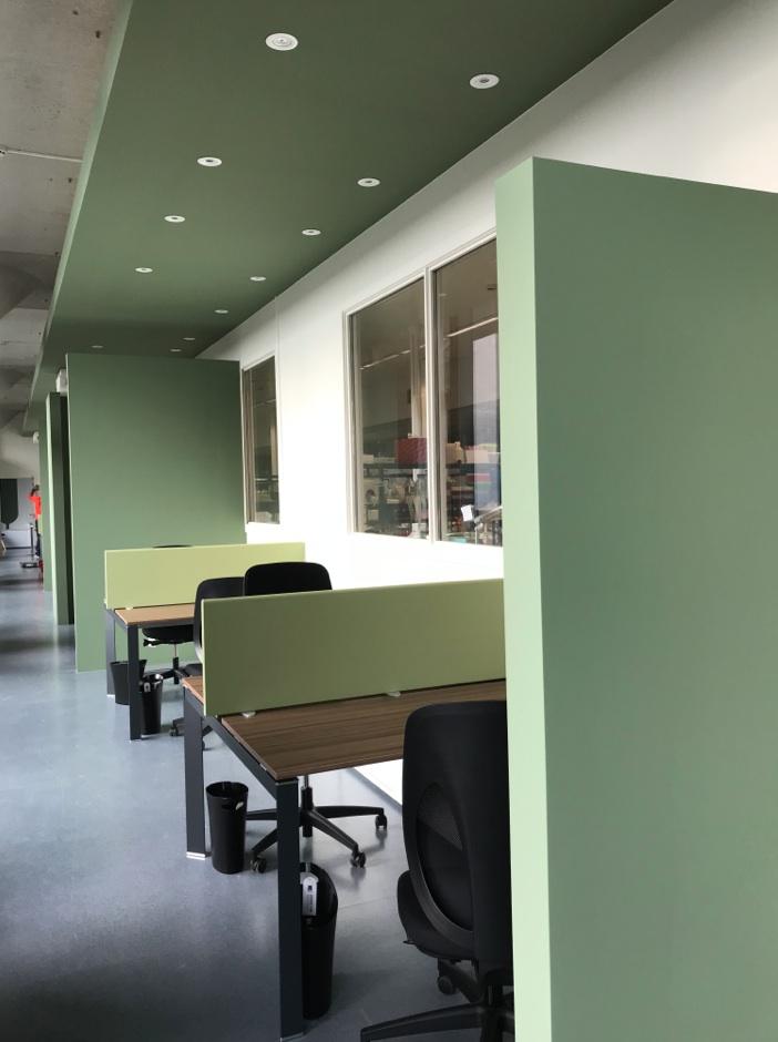 Aménagement professionnel - Bureaux Espace I&II CHU 1