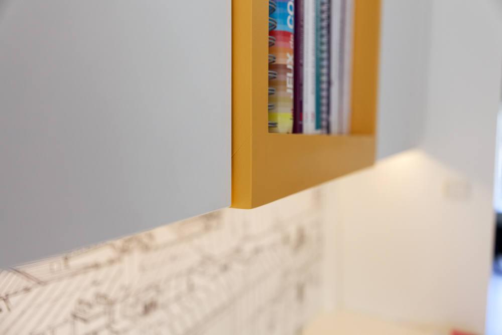 Création mobilier - bureaux intégrés contemporain 3