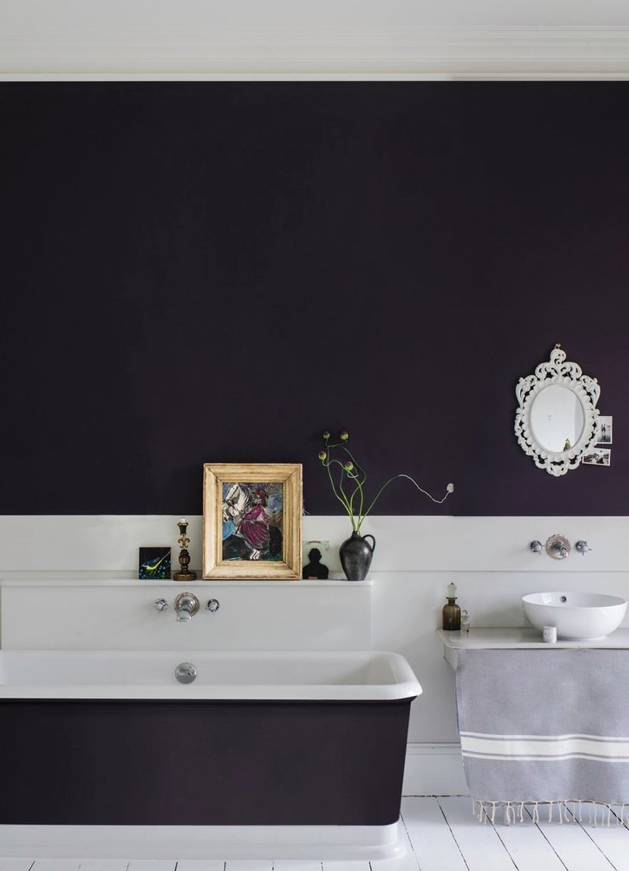 Paean Black 294 le noir chaud Farrow&Ball Dame DECO