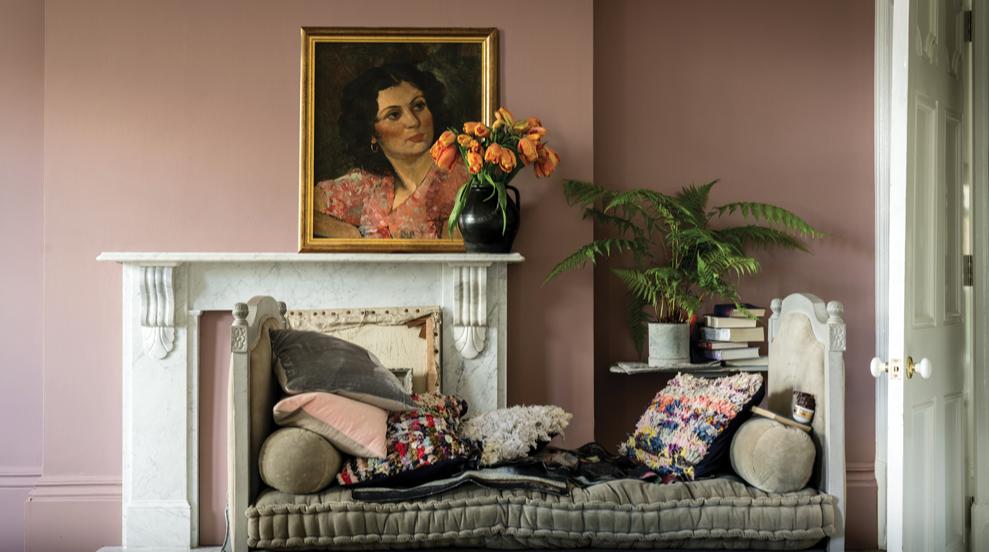 Sulking Room Pink n 295 le nouveau rose contemporain farrow&ball Dame DECO